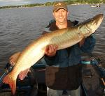 Fox Chain Of Lakes Illinois Fishing Guide Doug Kloet With Another Great Muskie!